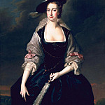 Lady Frances Courtenay, Thomas Hudson