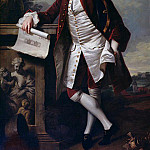 Thomas Hudson - Portrait of Theodore Jacobsen, architect of the Foundling Hospital