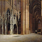 Carl Blechen - The Rood Screen in the Halberstadt Cathedral