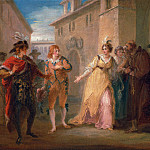 William Hamilton - The Revelation of Olivia's Betrothal, from Act V, Scene i of Twelfth Night