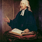 William Hamilton - Portrait of John Wesley (1703-1791)