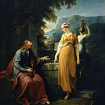 William Hamilton - Christ and the woman of Samaria