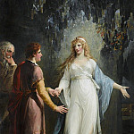 William Hamilton - Calypso receiving Telemachus and Mentor in the Grotto