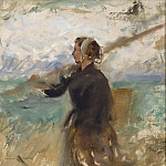A Fishergirl from the North of France. Study