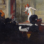Axel Jungstedt - Music-Hall Scene