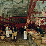 Hugo von Habermann - Meat hall in Middelburg