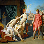 Achilles greets the ambassadors of Agamemnon, Jean Auguste Dominique Ingres