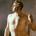 Male Torso, Jean Auguste Dominique Ingres