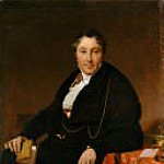 Jean Auguste Dominique Ingres - Jacques-Louis Leblanc (1774–1846)