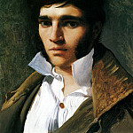 Jean Auguste Dominique Ingres - Portrait of the Sculptor Paul Lemoyne