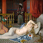 Jean Auguste Dominique Ingres - Odalisque with a slave