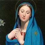 Virgin of the Adoption, Jean Auguste Dominique Ingres