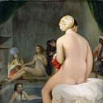 Jean Auguste Dominique Ingres - Small Bather. Interior of a Harem