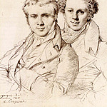 Jean Auguste Dominique Ingres - Ingres_Otto_Magnus_von_Stackelberg_and_possibly_Jackob_Linckh