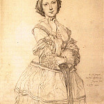 Ingres_Mademoiselle_Cecile_Panckoucke, Jean Auguste Dominique Ingres