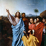 Christ Giving the Keys to Saint Peter, Jean Auguste Dominique Ingres