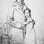 Ingres_Charles_Hayard_and_his_daughter_Marguerite, Jean Auguste Dominique Ingres