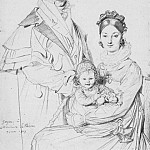 Jean Auguste Dominique Ingres - Ingres_The_Alexandre_Lethiere_Family