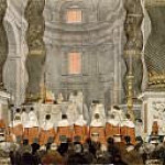 Jean Auguste Dominique Ingres - Pontifical Mass at Saint Peter's Basilica in Rome