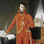 Napoleon Bonaparte in the Uniform of the First Consul, Jean Auguste Dominique Ingres