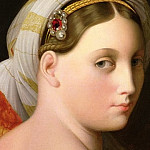 Jean Auguste Dominique Ingres - The Grand Odalisque (fragment)