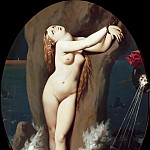 Jean Auguste Dominique Ingres - Angelica chained