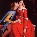 Jean Auguste Dominique Ingres - Francesca da Rimini and Paolo Malatesta