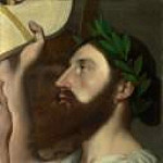 Pindar and Ictinus, Jean Auguste Dominique Ingres