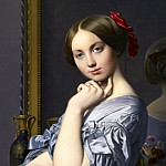 Jean Auguste Dominique Ingres - Countess D´Haussonville