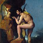 Oedipus and the Sphinx, Jean Auguste Dominique Ingres