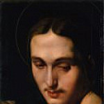 Head of Saint John the Evangelist, Jean Auguste Dominique Ingres