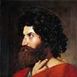 Head of Saint Matthew, Jean Auguste Dominique Ingres