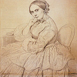 Ingres_Madame_Jean_Auguste_Dominique_Ingres_born_Delphine_Ramel, Jean Auguste Dominique Ingres