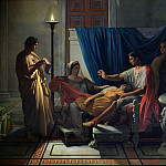 Jean Auguste Dominique Ingres - Virgil Reading the Aeneid to Livia, Octavia and Augustus