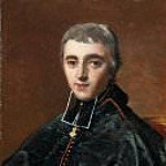Jean Auguste Dominique Ingres - Abbot de Bonald