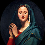 Jean Auguste Dominique Ingres - Virgin of the Blue Vei