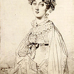 Ingres_Lady_William_Henry_Cavendish_Bentinck_born_Lady_Mary_Acheson2, Jean Auguste Dominique Ingres