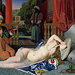 Jean Auguste Dominique Ingres - Odalisque with Slave