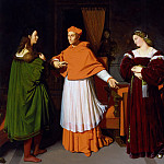 The Betrothal of Raphael and the Niece of Cardinal Bibbiena, Jean Auguste Dominique Ingres