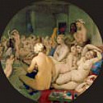 The Turkish Bath, Jean Auguste Dominique Ingres