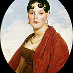 Madame Aymon, Jean Auguste Dominique Ingres