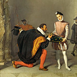 Don Pedro de Toledo kisses the sword of king Henri IV, Jean Auguste Dominique Ingres