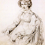 Jean Auguste Dominique Ingres - Ingres_Mrs._Charles_Thomas_Thruston_born_Frances_Edwards