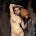 The source, Jean Auguste Dominique Ingres