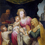 Holy Family with Saints Anne and Infant John the Baptist