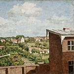 Pehr Hilleström - View from Düsseldorf