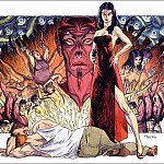 Micheal Kaluta - a Daughter of Satan