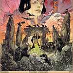 Micheal Kaluta - Prince Valiant A Final Incantation