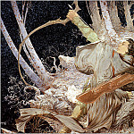 Micheal Kaluta - Legolas Draws the Bow of Galadriel