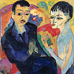 Oscar Frenzel - Couple sitting